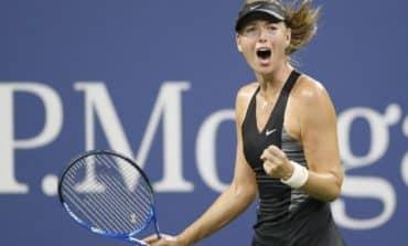 Sharapova edges past spirited Schnyder