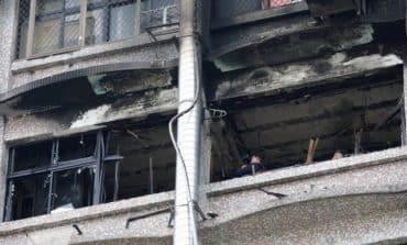 Blaze at Taiwan hospital kills 9 (Update)