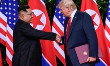 Trump hails Kim, sees no need to resume US-South Korea war games