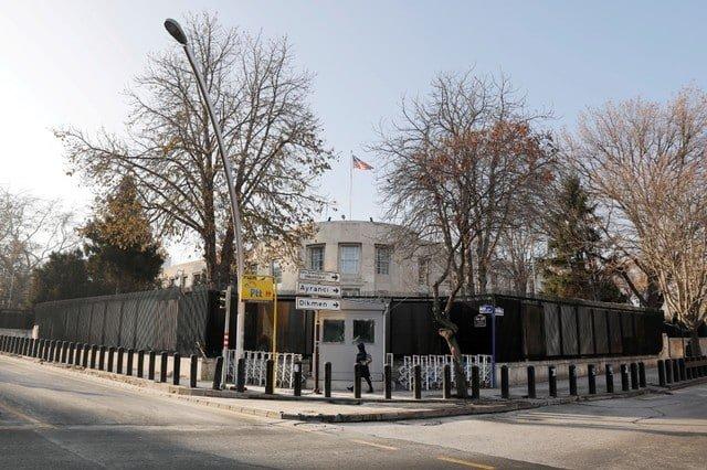 Gunshots fired at U.S. embassy in Turkey (Update)