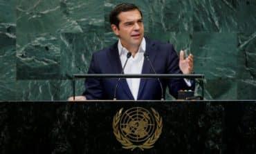 Tspiras addresses Cyprus issue in UN assemblyspeech