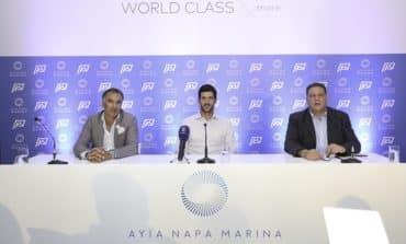 Pavlos Kontides: official Ayia Napa Marina ambassador