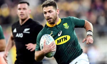 Dyantyi grabs two as Springboks upset All Blacks