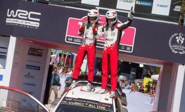 TOYOTA Triumph in the Rally Turkey