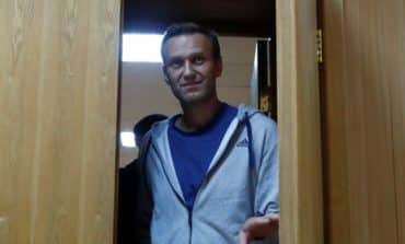 Russian opposition leader Navalny detained upon jail release-associates