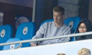 Man City's De Bruyne targets derby day return
