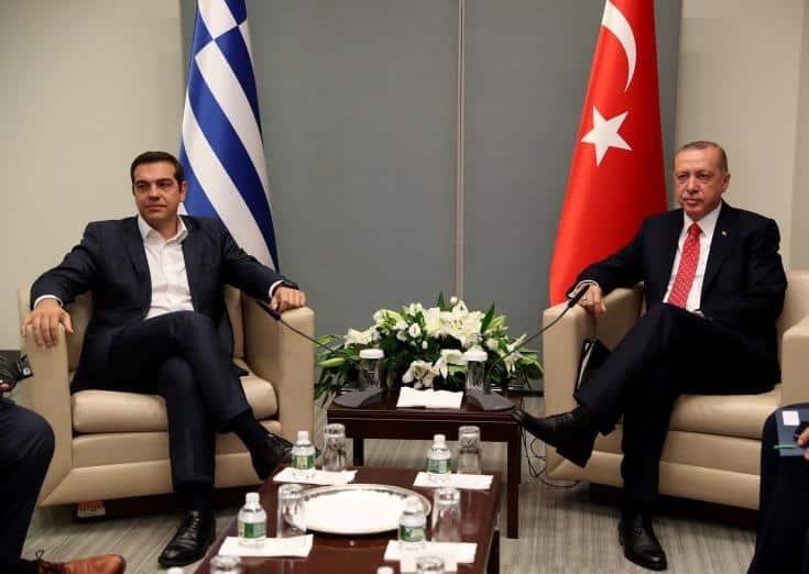 Tsipras and Erdogan discuss Cyprus problem