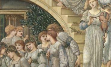 Walking through Burne-Jones' brush strokes
