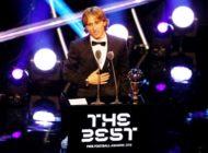 Modric wins Best Fifa Men's Player award