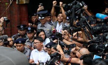 Reuters Myanmar reporters given seven years in landmark case