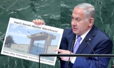 Netanyahu, in UN speech, claims secret Iranian nuclear site