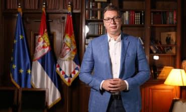 Serbian President says he wants EU membership guarantee