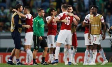 Arsenal win again, settles Europa league tie against Lisbon