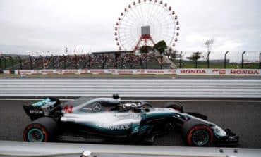 Hamilton fastest as Mercedes dominate Japanese practice