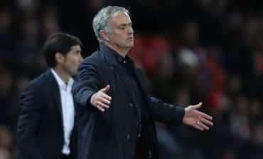 Mourinho cuts a deflated figure as United's struggles continue