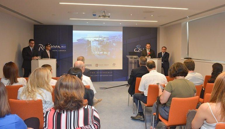 Official opening of Larnaca's Radisson Blu Hotel and QBlu Plaza