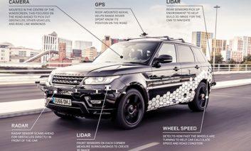 Self-driving car runs rings around Coventry