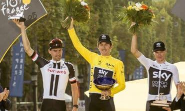 Tour de France trophy stolen at cycle show