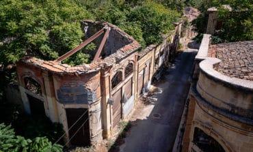 A rare view from inside Nicosia's buffer zone
