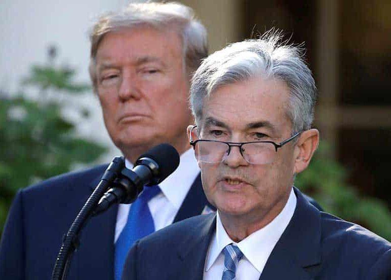 Trump calls 'loco' Federal Reserve 'too aggressive'