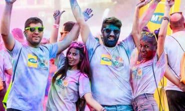 Music, exercise, colour: Run in Colour