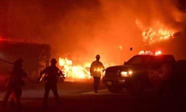 Nine killed, 35 missing in California wildfire; Malibu threatened (V)