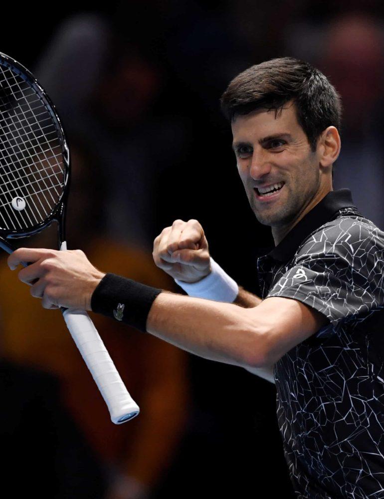 Djokovic and Zverev off to winning starts at ATP Finals