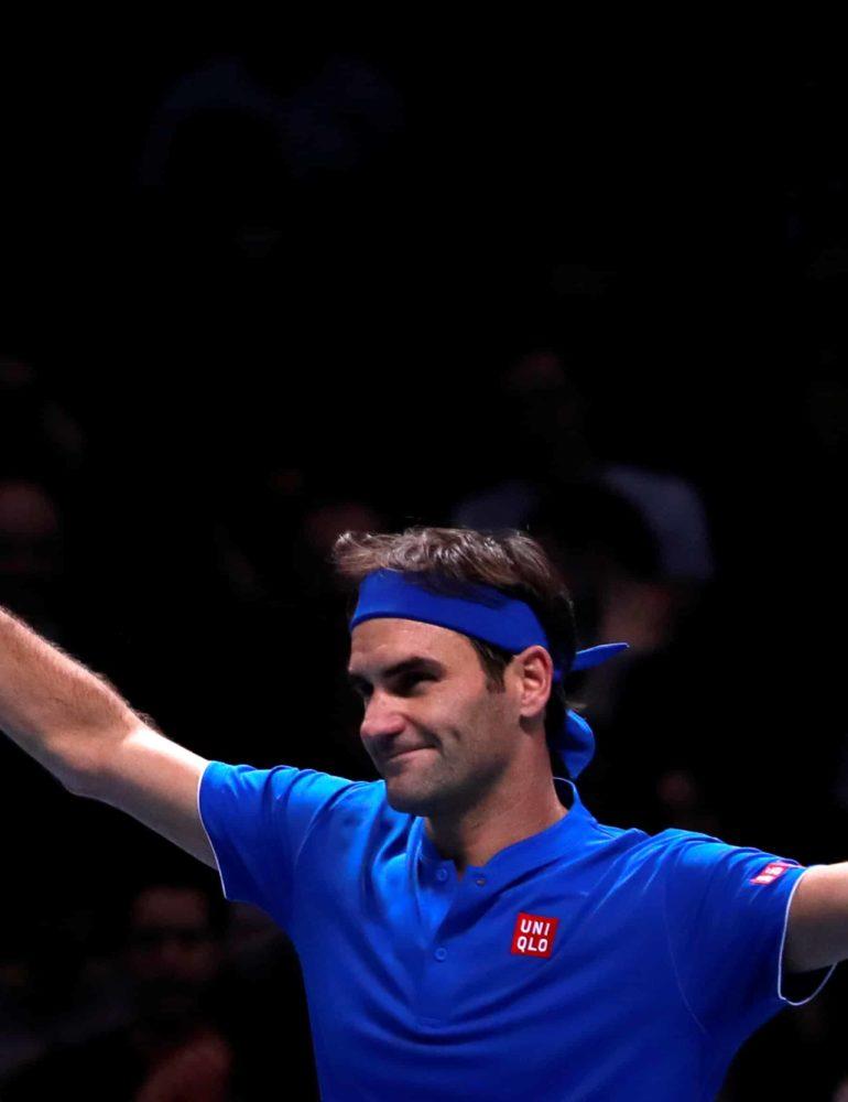 Federer outclasses Thiem to keep ATP Finals hopes alive