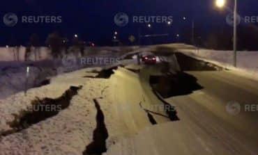 Alaska hit by strong earthquake (V)