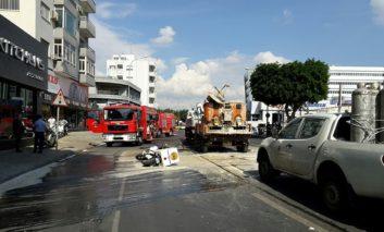 Swift response prevented bad injuries in truck blast (Updated)