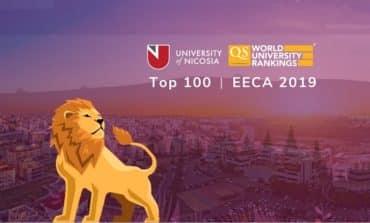University of Nicosia Ranked among Top 100 Universities  in the EECA Region