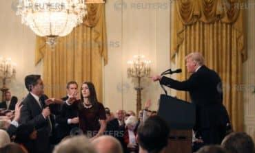 Defiant Trump blames media, fellow Republicans for House losses