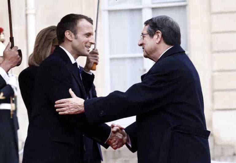 Anastasiades – Macron to meet in Nicosia, focusing on energy and security