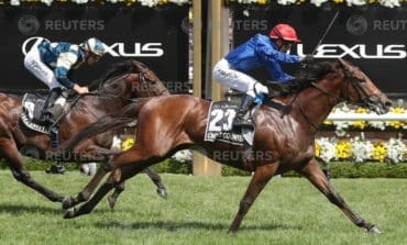 Cross Counter breaks Godolphin's Melbourne Cup drought