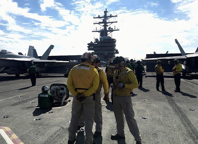 US carrier leads warships in biggest ever Japan defence war game