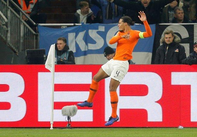 I wished him strength – Van Dijk consoles ref after match