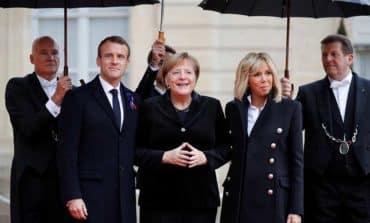 World leaders ceremony marks WW1 Armistice centenary (updated)