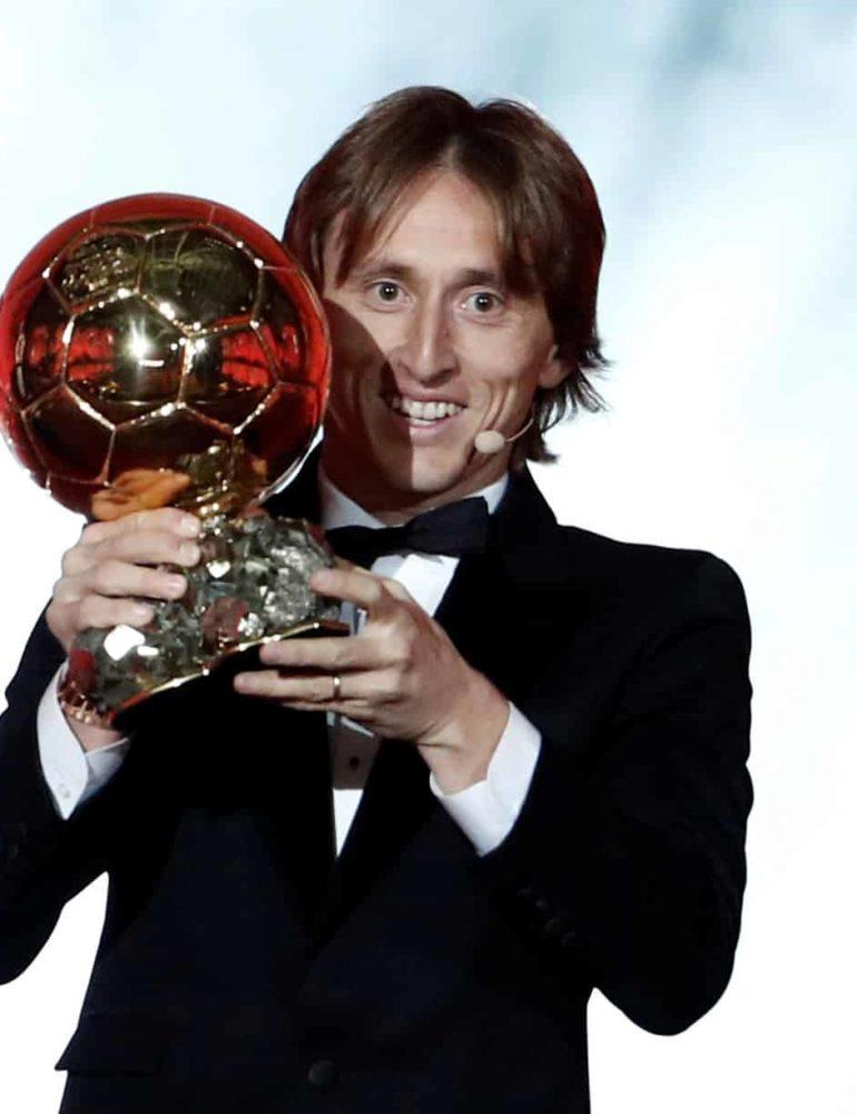 Modric wins Ballon d'Or, breaks Messi-Ronaldo dominance