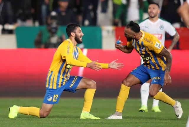 Apoel continue dominance over rivals Omonia