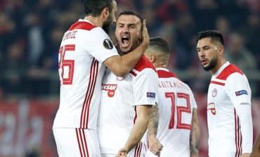 Olympiakos knock out Milan in thriller
