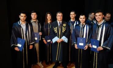 Graduation ceremony for Neapolis University