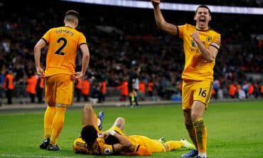 Rampant Wolves raid Wembley to hurt Spurs' title hopes
