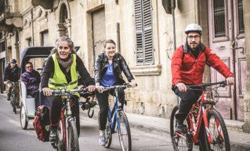 Bicommunal bike group leaves no-one behind