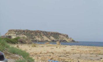 Woman drives into sea in Peyia