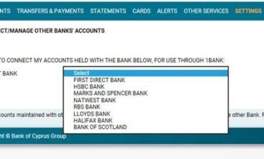 Access to overseas accounts through 1bank