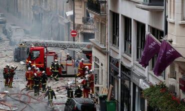 Three dead in Paris gas blast amid protests