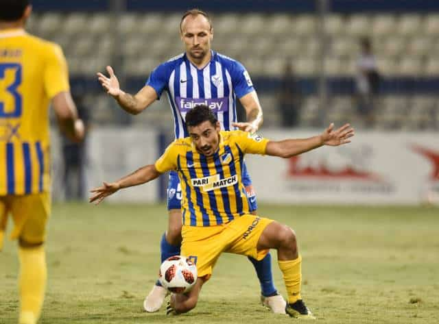 Apoel seek sixth straight win against Anorthosis