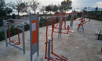 Chlorakas gets new outdoor seaside gym