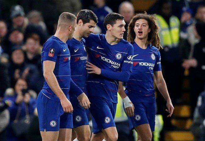 Morata brace helps Chelsea advance in FA Cup