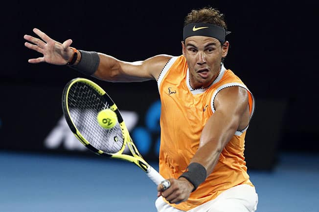 Nadal spins his way into third round with near flawless display